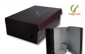 Sản xuất hộp giấy đựng giày tại Việt In
