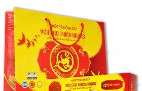 Sản xuất hộp giấy đựng nước Yến tại Việt In