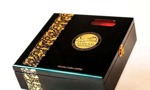 Mẫu in hộp giấy đựng cà phê